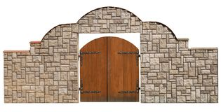 Stone_gate Stock Images