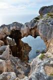 StoneArch在西澳州 免版税库存图片