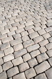 Stoneblock pavement Stock Images