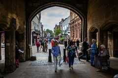 Stonebow and Guildhall Archway in Lincoln
