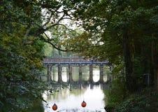 Stonebrigde σε ένα μικρό πάρκο Στοκ εικόνες με δικαίωμα ελεύθερης χρήσης