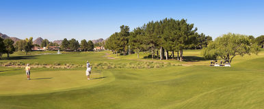 A Stonecreek Golf Club Shot, Phoenix, Arizona Stock Photo