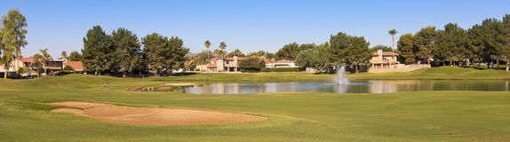 A Stonecreek Golf Club Shot, Phoenix, Arizona Stock Images