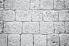 Stoned background, detail of building in Trogir royalty free stock images