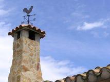 Stoned chimney Royalty Free Stock Image