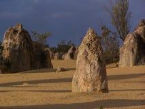 Stoneformation in der Wüste stockbild