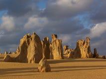 Stoneformation in der Wüste lizenzfreie stockfotos