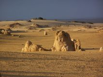 Stoneformation in deserto Fotografie Stock