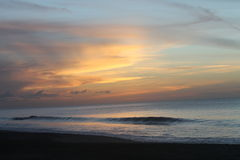 Stonehaven海滩,多巴哥 免版税库存图片