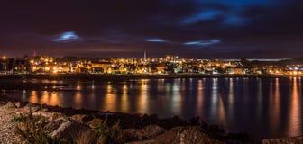 Stonehaven τή νύχτα Στοκ Φωτογραφίες