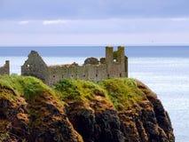 Stonehaven, замок Dunnottar стоковые фотографии rf