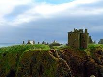 Stonehaven, замок Dunnottar Стоковые Изображения RF