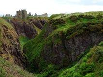 Stonehaven, замок Dunnottar Стоковые Фото