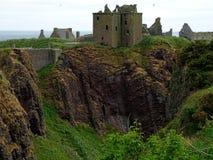 Stonehaven, замок Dunnottar Стоковые Изображения