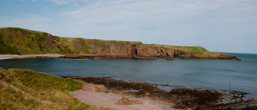 Stonehaven coast Royalty Free Stock Images