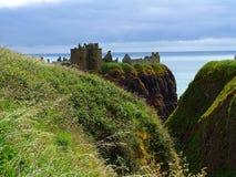 Stonehaven Dunnottar slott Royaltyfria Foton
