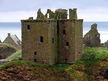 Stonehaven Dunnottar slott Royaltyfri Fotografi