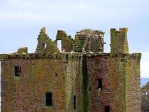 Stonehaven Dunnottar slott Fotografering för Bildbyråer