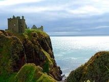 Stonehaven Dunnottar slott Arkivfoto