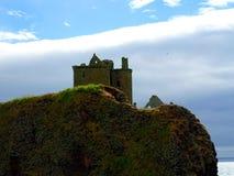 Stonehaven Dunnottar slott Royaltyfri Foto