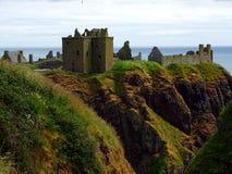 Stonehaven Dunnottar slott Arkivbilder