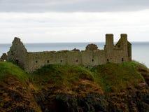 Stonehaven Dunnottar slott Royaltyfria Bilder
