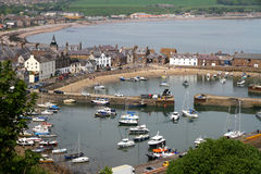 Stonehaven harbor view Royalty Free Stock Images