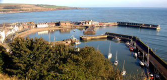 Stonehaven Harbour Royalty Free Stock Photo