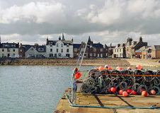 Stonehaven Harbour, Aberdeenshire, Scotland Royalty Free Stock Photography