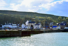 Stonehaven Harbour, Aberdeenshire, Scotland Royalty Free Stock Photo