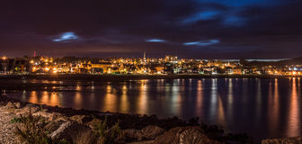 Stonehaven par nuit Photos stock