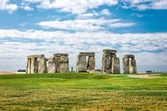 Stonehendge in summertime stock images