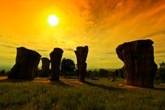 stonehenge泰国 图库摄影