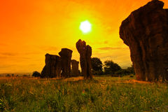 stonehenge泰国 免版税图库摄影