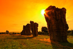 stonehenge泰国 免版税库存图片