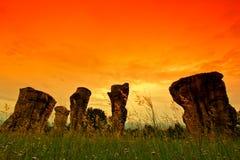 stonehenge泰国 库存照片