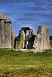 Stonehenge风景视图  库存图片