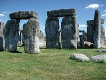 Stonehenge, Αγγλία, φύση Στοκ Φωτογραφία