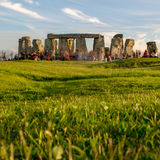 Stonehenge την παραμονή του καλοκαιριού Solstice Στοκ Εικόνες