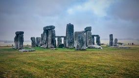 stonehenge Англии стоковые изображения