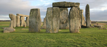 stonehenge Англии Великобритания Стоковые Фото