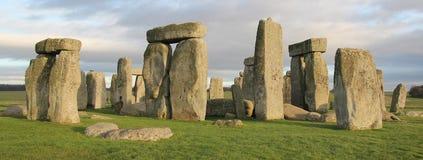 stonehenge Англии Великобритания Стоковое фото RF