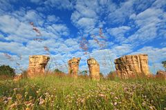 stonehenge Таиланд mor khao hin Стоковые Изображения