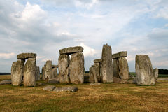 Stonehenge. The prehistoric monument Stonehenge in the Wiltshire county of Britain royalty free stock photography