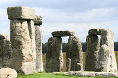 Stonehenge. Close up view of stonehenge in Wiltshire, UK Stock Photos