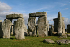 Stonehenge. Prehistoric Monoliths at Stonehenge, England, United Kingdom Royalty Free Stock Images