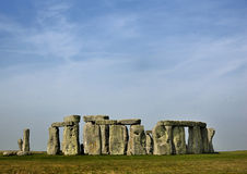 Stonehenge. A picture of Stonehenge in England on a nice day in spring Stock Photo