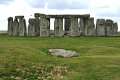 Stonehenge. Monoliths on a bright day Stock Photos
