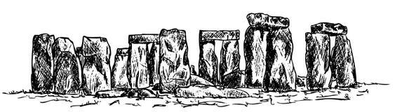 Stonehenge illustration stock
