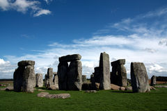 Stonehenge. A prehistoric monument located in the English county of Wilt-shire royalty free stock image